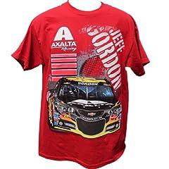 Buy 2014 Jeff Gordon AXALTA Mens Double Sided Tee Shirt by NASCAR