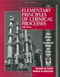 img - for Elementary Principles of Chemical Processes book / textbook / text book