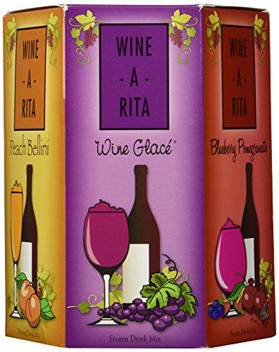 Wine-A-Rita Mix-It-Up: Five Delicious Margarita Flavor Packets - Make a Great Drink with Mix, Ice, Wine and a Blender 5-6 oz packs (30 oz) 5-170 g packs (850 g)