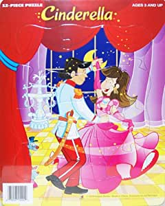 12-Piece Tray Puzzle - Cinderella