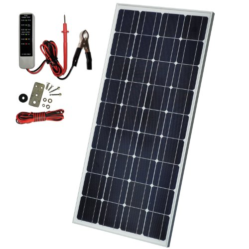 Sunforce 37130 130W Crystalline Solar Panel