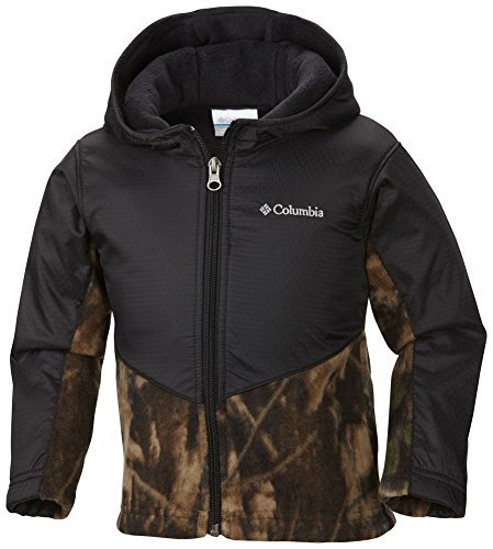 Columbia Little Boys' Steens Mt Overlay Hoodie, Timberwolf, 3T