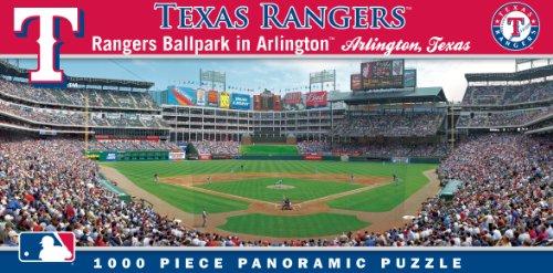 Masterpieces Mlb Texas Rangers Stadium Panoramic Jigsaw Puzzle, 1000-Piece front-851618