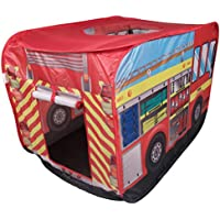 Fire Truck Kids Indoor And Outdoor Play Tent - Easy Assembly