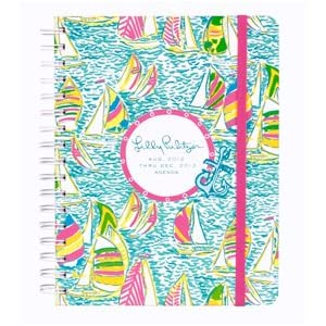 Lilly Pulitzer Large Agenda Day Planner Ugotta Regatta 2013