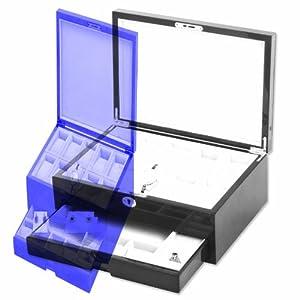 Mahogany High Gloss Finish Accessories Case