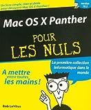 echange, troc B. Le Vitus - Mac OS X Panther pour les nuls