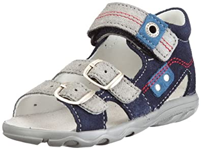 Richter Kinderschuhe Terrino 72.2712.1761, Jungen Sandalen, Blau (atlantic/rock/pacific), EU 26