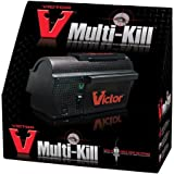 Multi-Kill, High-Voltage Shock Electronic Mouse Trap, Black