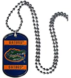 NCAA Florida Gators 36-Inch Ball Chain Necklace with Licensed Tag