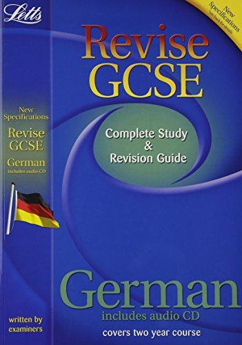 German (inc. Audio CD): Study Guide (Letts GCSE Success)