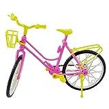 Toy - u-hoMEy Barbie Doll Accessories Detachable Bike with Basket