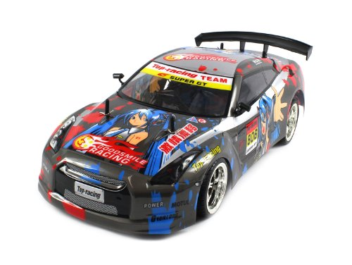 Save Price Nissan GTR Anime Electric RC Car 1:10 CT Speed Racing 10+MPH RTR (Colors May Vary)