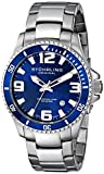 "Stuhrling Original Mens 395.33U16 ""Aquadiver Regatta"" Stainless Steel Dive Watch"