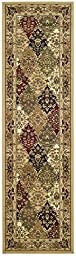 Safavieh Lyndhurst Collection LNH221C Traditional Multi and Black Runner (2\'3\