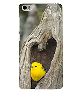 ColourCraft Cute Bird Design Back Case Cover for XIAOMI MI 5