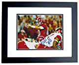 AJ McCarron Autographed Alabama Crimson Tide 8x10 Photo BLACK CUSTOM FRAME - 2x NCAA National Champion at Amazon.com