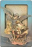 マグネット入りミニ置物 大天使聖ミカエル