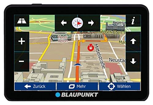 Blaupunkt-TravelPilot-54-CE-LMU-Navigationssystem-mit-127-cm-5-Zoll-Display-Bluetooth-Freisprecheinrichtung-Kartenmaterial-Zentraleuropa-lebenslange-Karten-Updates-TMC-Stauumfahrung-Fahrspurassistent