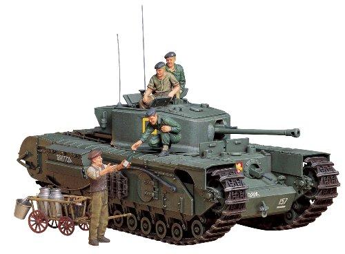 1/35 ミリタリーミニチュアシリーズ No.210 イギリス 歩兵戦車 チャーチル Mk.VII 35210