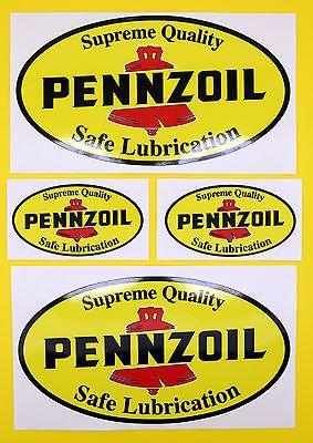 auto-classique-rallye-course-pennzoil-ensemble-autocollant-2-grandes-2-petits-brillant-stratifie