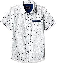Cherokee Boys' Shirt (267982461_White_9 - 10 years)