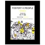 FOSTER THE PEOPLE - Torches Matted Mini Poster - 28.5x21cm