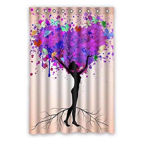 """120 cm x 183 cm (48 """"x 72"""") Curtain Bagno Doccia, creativo astratto sfondo colorato graffiti modello bel design, impermeabile Bagno Doccia cortina di muffa verde"""