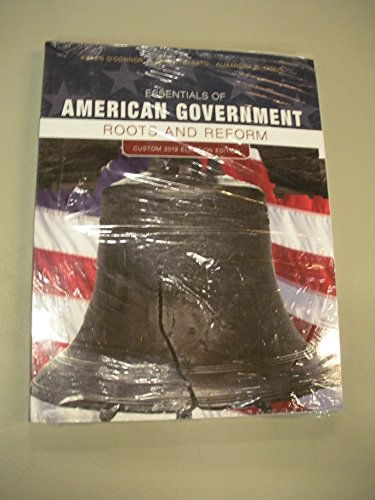 Essentials of American Government Roots and Reform Custom 2012 Election Edition (American Government Custom compare prices)