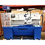 "Precision Matthews 16""x40"", 2"" Spindle Bore, Metal Lathe Package, with 2 axis DRO Included. Quick Change Tool Post Set, 3 and 4 jaw chucks, much more!"