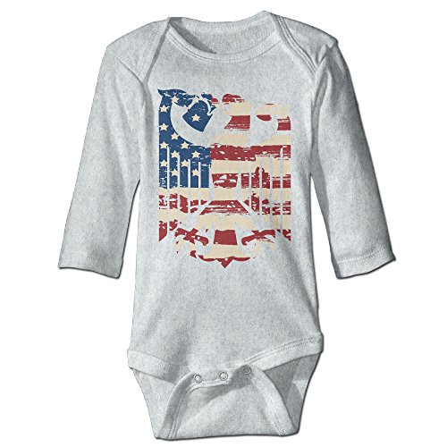 [Oktoberfest American Eagle Cute Boy And Girl Baby Romper Jumpsuit Ash] (Oktoberfest Costumes Party City)