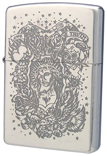 ZIPPO (Zippo) oil lighter NO200 Maria - 0 - Christ Christ silver 63220298