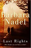 Last Rights (0755327039) by Nadel, Barbara