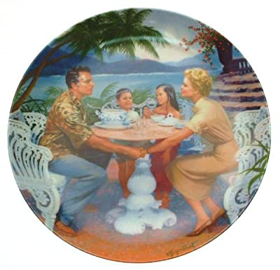 Knowles South Pacific Dites Moi plate Elaine Gignilliat CP1803