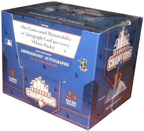 2005 Donruss Champions Baseball HOBBY Box – 24P8C
