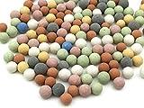 Amazon.co.jpさらさら レトロなカラーボール 木の実風 MIX 10g レジン ガラスドーム 封入 パーツ