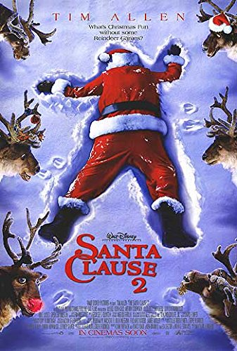 "Santa Clause 2 - Authentic Original 27"" x 40"" Movie Poster -shop for Blu-ray, DVD, and Movie-themed products"
