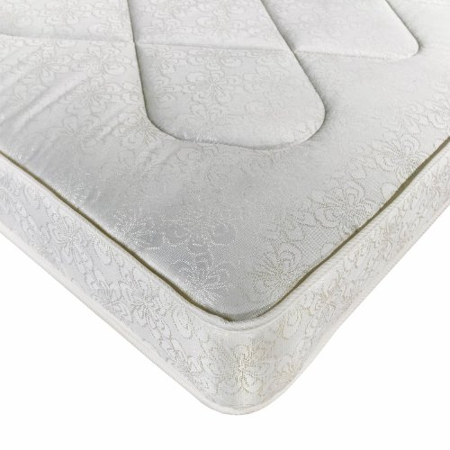 Joseph Freestyle Pace Mattress - 2FT6 Small Single - Soft Coil Sprung Mattress - Belgium Damask Cover - Hand Tufted - Two Sided - Medium Firmness
