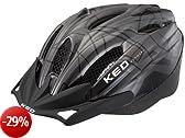KED 143170 - Casco da ciclismo unisex, Multicolore (Anthracite Black), L