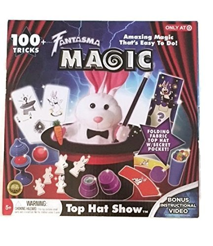 Amazon.com: Fantasma Magic Top Hat Show: Toys & Games