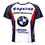 Tyco BMW British Superbike Racing Partout imprimé T-shirt officiel 2016...