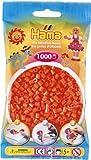 HAMA 207-04 - Perlen orange, 1000 Stück von Hama