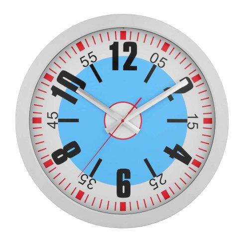 Stop Watch Motif Round Face Quartz 16