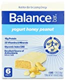 Balance Bar, Yogurt Honey Peanut, 6 - 1.76 oz Bars per Box