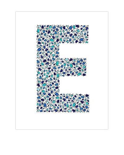 CiCi Art Factory Kid's Lotsa E Penguins Print, Blue