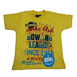 Tomato 26 Yellow T- Shirt For Boys