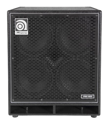 Ampeg Pro Neo Pn-410Hlf Bass Amp Cab, 4X10-Inch Speaker Cabinet, Neodymium Loaded, 850W Rms