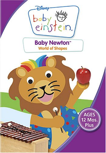 Cover art for  Baby Newton All About Shapes
