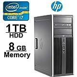 HP Elite 8200 i7 Workstation Computer- Core i7 3.4GHZ - NEW 1TB with 2 YEAR WARRANTY on HDD- 8GB RAM - WIFI - Windows 7 Pro 64-Bit- Refurbished