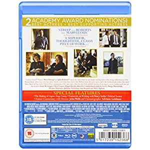August: Osage County [Blu-ray] [Import anglais]